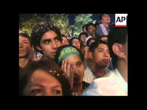 CHILE: SANTIAGO: RICARDO LAGOS ELECTED PRESIDENT