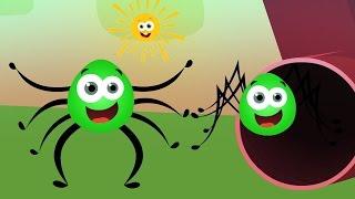 Incy Wincy Aranha | Aranha Canção | vídeo educativo | Crianças rimas Colecção | Itsy Bitsy Spider