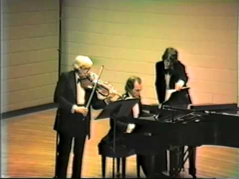 Emanuel Vardi Recital 1981 Sioux Falls, SD trim.mov