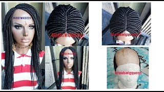 How To Make Box Braid Wig with NO Closure/Frontal