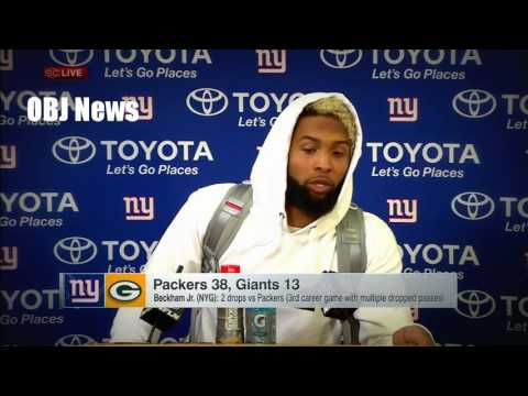 Odell Beckham Jr: No connection between boat trip and Giants' loss