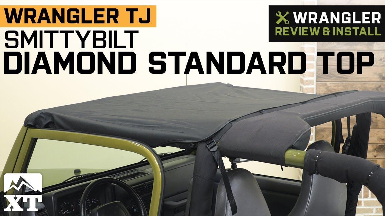 Smittybilt 93335 Black Diamond Standard Top