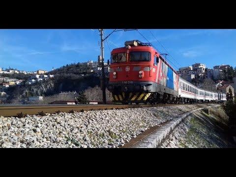 Hz Putnicki Vlak 4000 Zagreb Rijeka Passenger Train No 4000 For Rijeka Youtube