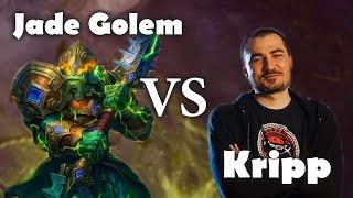 Kripp's First Game Against Jade Golem Druid Deck