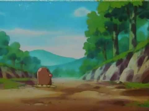 Pikachu meets Diglett