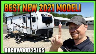 BEST New Travel Trailer for 2021! Rockwood 2516S