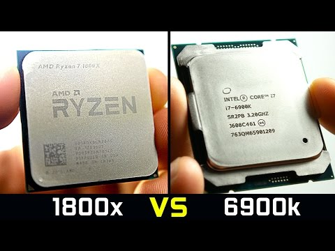 AMD Ryzen 7 1800X - Faster Than $1000 Intel CPU?