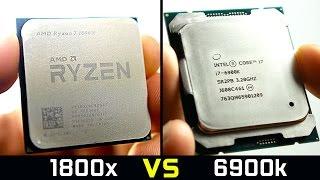AMD Ryzen 7 1800X - Faster Than $1000 Intel CPU?