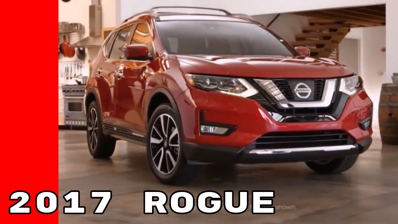Nissan Rogue Accessories >> 2017 Nissan Rogue Overview, Features, and Accessories - YouTube