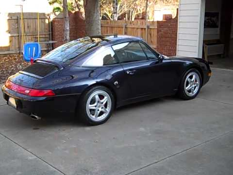 1996 porsche 993 targa for sale youtube. Black Bedroom Furniture Sets. Home Design Ideas