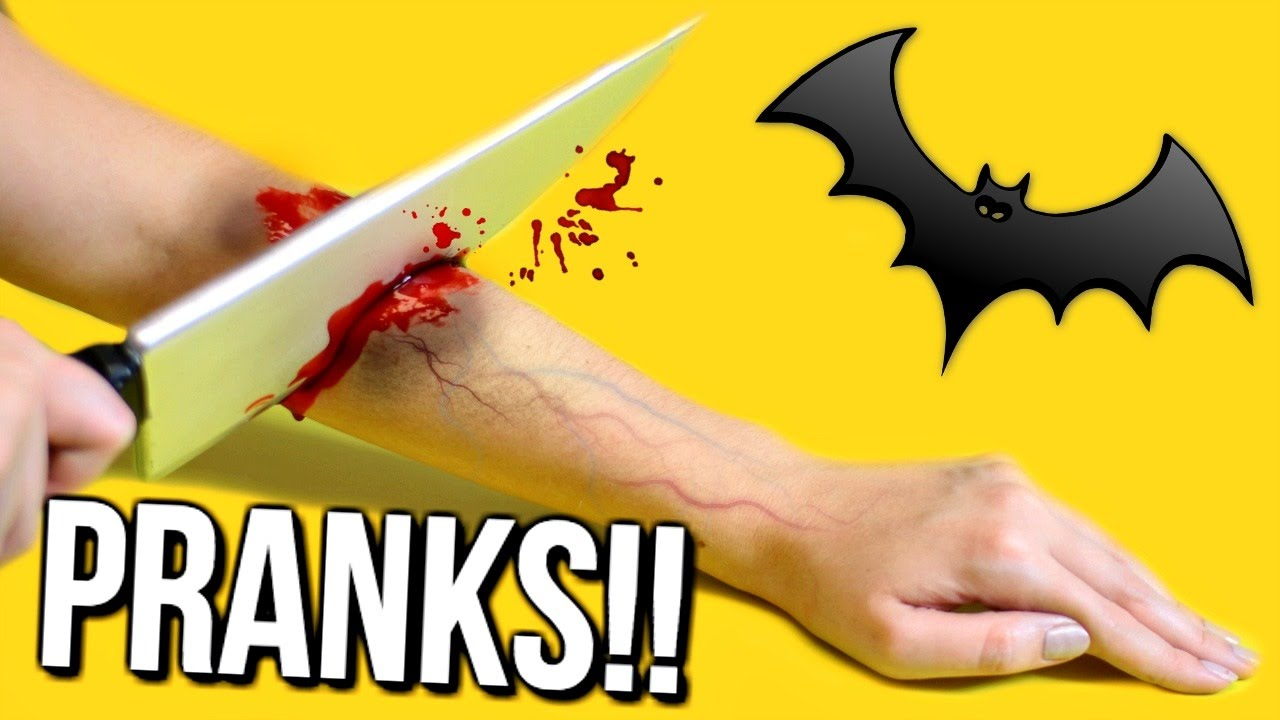 5 HALLOWEEN PRANKS You NEED To Try On Friends & Family! DIY ...