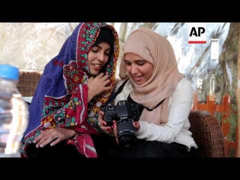 Female photographers challenge taboos in Yemen