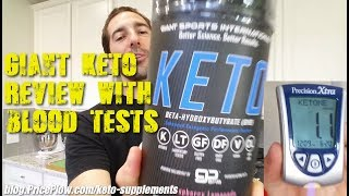 Giant Sports Giant Keto Review - BHB Supplements WORK!