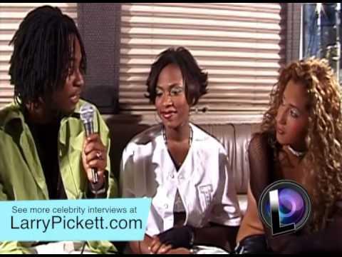 RARE VIDEO 2001 Adrienne Bailon, Kiely Williams & Naturi Naughton 3LW on The Larry Pickett