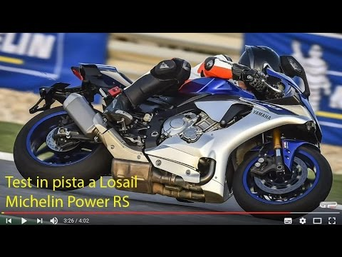 test in pista a losail michelin power rs youtube. Black Bedroom Furniture Sets. Home Design Ideas