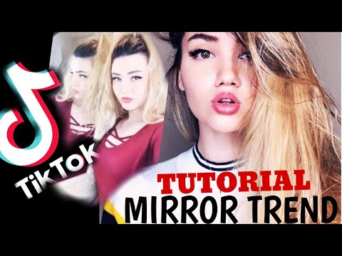 New Mirror Trick Tutorial Tiktok 2019 New Tik Tok Tutorials Secret Revealed Youtube