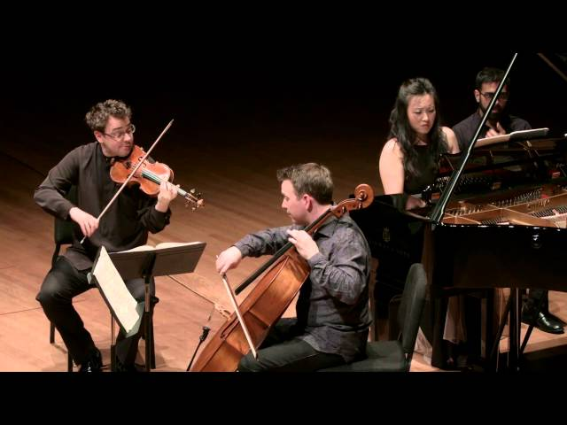 Brahms Trio in C minor for Piano, Violin, and Cello, Mvt. III