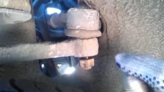 Зняття рульових тяг з наконечниками на Ваз 2114 16 кл, без зняття коліс!