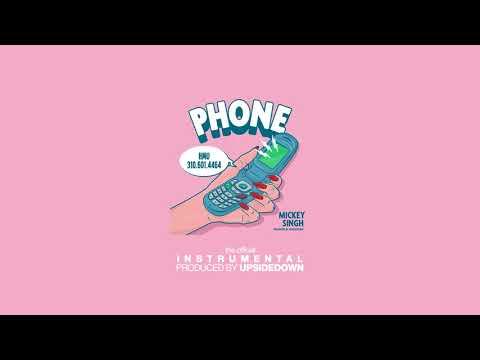 UpsideDown & Mickey Singh - Phone (Official Instrumental)