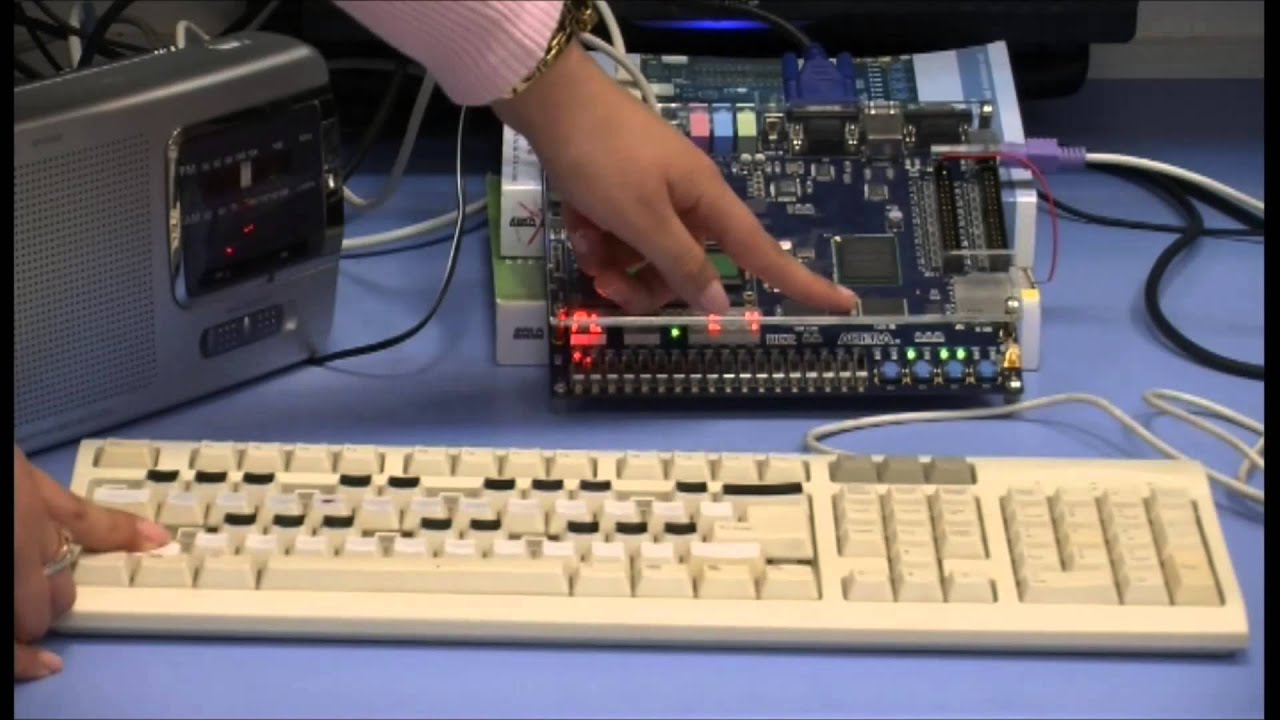 VHDL & FPGA Project: Music Player