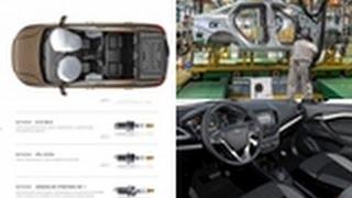 Новости АВТОВАЗа/News Of AVTOVAZ :LADА VESTA подорожала на 17000 руб ,новые поставщики комплектующих