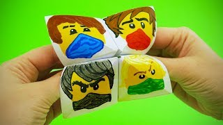 The Lego Ninjago Paper Fortune Teller Step by Step Tutorial | Chatterbox DIY