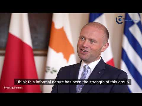 South EU Summit Interview With Prime Minister Of Malta - Joseph Muscat (Part 1)