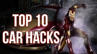 top 10 simple car hacks that will change your life