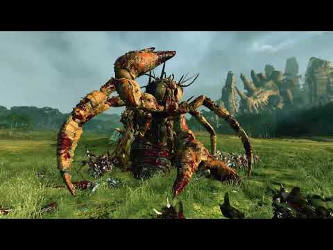 Rotting Leviathan VS Temple Guards | Total War: Warhammer 2 |
