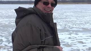 Цимла 22 февраля 2021 Новые места Зимняя рыбалка 1 часть