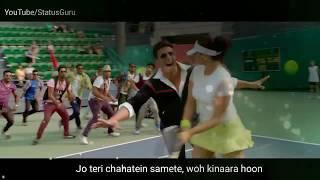 Tu hi toh Hai Akshay and sonakshi whatsapp status  clips lyrics