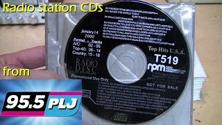 I ended up with WPLJ's music library - special radio station CDs