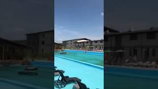 видео загородный комплекс с бассейном под Киевом