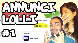 ANNUNCI LOLLI #1 - UNA PS2 A 50 MILA EURO!