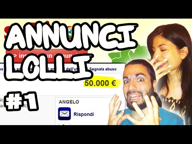 Annunci Assurdi - Lolli  #1 - PS2 A 50 MILA EURO! | YouTube PRO