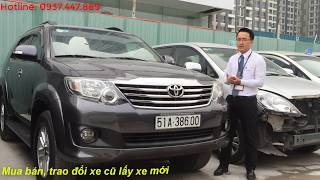 [Đã bán] Bán xe Toyota Fortuner 2012 cũ 2.7V số tự động 1 cầu giá tốt