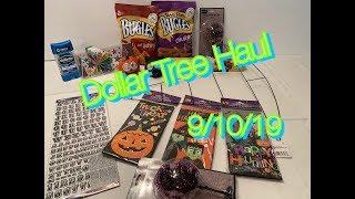 Dollar Tree Haul | New Items 9/10/19