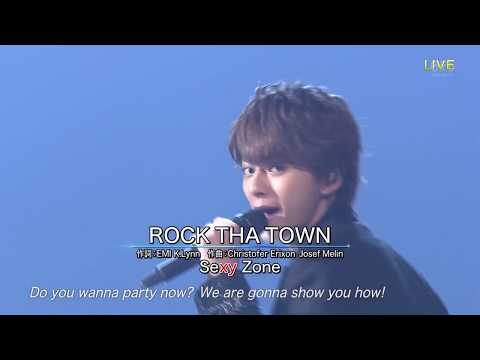 20170701 THE MUSIC DAY Sexy Zone Rock tha town