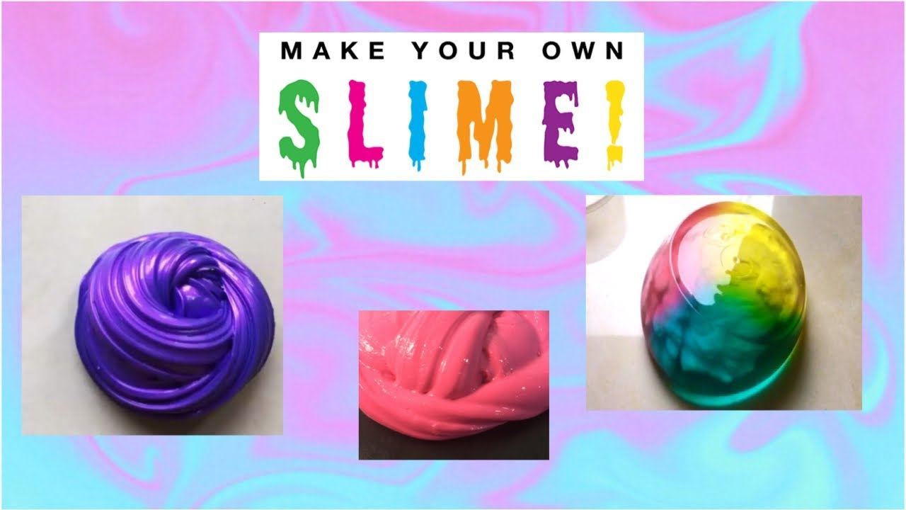 How To Make Fluffy Slime With Foam Hand Soap