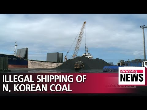 3 South Korean firms found to have illegally imported North Korean coal and pig iron..