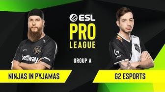 CS:GO - Ninjas in Pyjamas vs. G2 Esports [Dust2] Map 1 - Group A - ESL EU Pro League Season 10
