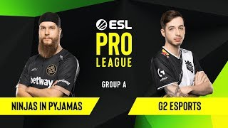 CS:GO - Ninjas in Pyjamas vs. G2 Esports [Dust2] Map 1 - Group A - ESL EU Pro League Season 10