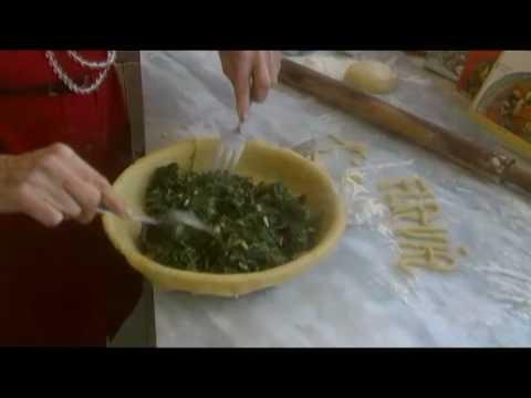 Lezione 32  Pizza di Scarola Cucina Napoletana di