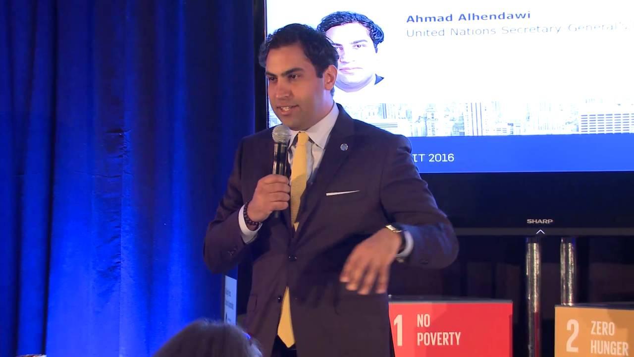 Ahmad Alhendawi ahmad alhendawi - leaders summit 2016 day 2 – 23 june marriott marquis