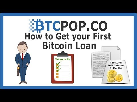 How to Get a Bitcoin Loan at Btcpop