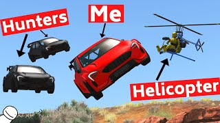 BeamNG Carhunt, But There Is Air Support