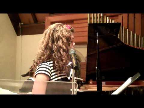 Jesus, Jesus Rest Your Head sung by 12 yr old Emma Elizabeth