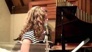 Jesus, Jesus Rest Your Head sung by 12 yr old Emma Elizabeth