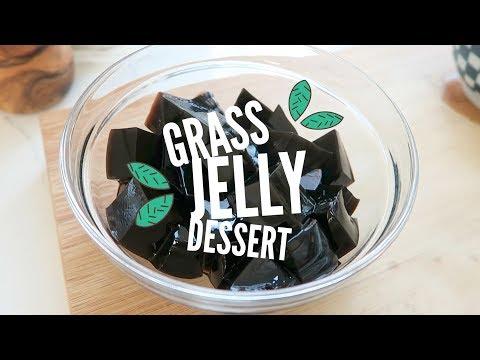 Taiwanese Grass Jelly Dessert ♥ (仙草) Xiān cǎo
