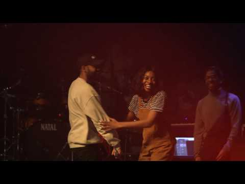 Little Simz performs with Stormzy and Kano at Roundhouse Rising Festival